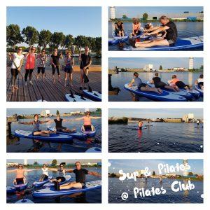 SUP en Pilates in Alphen aan den Rijn